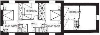 carbery 1 dunmanus bay holiday home floor plan upstairs